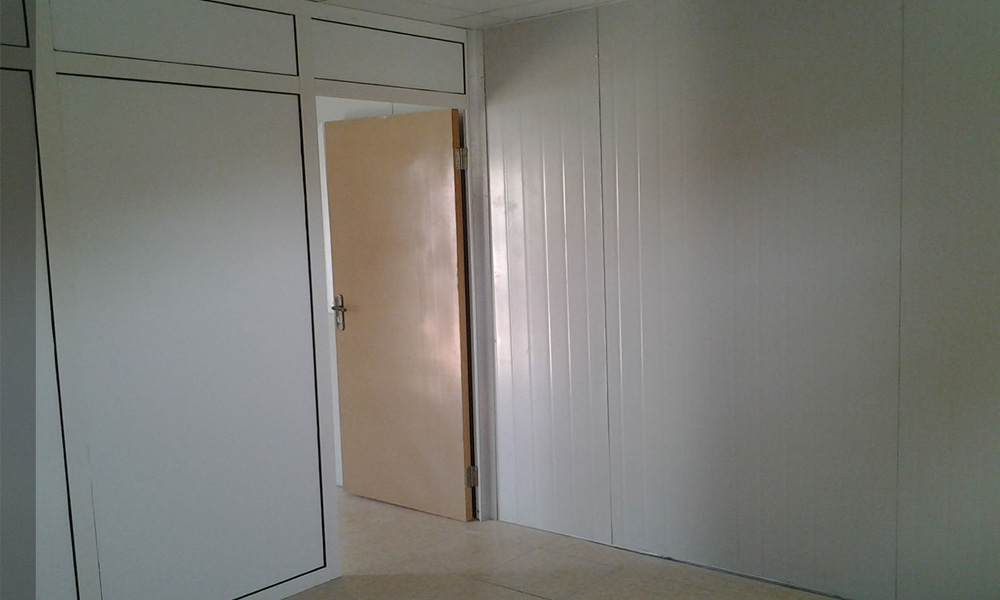White color rockwool wall panels price