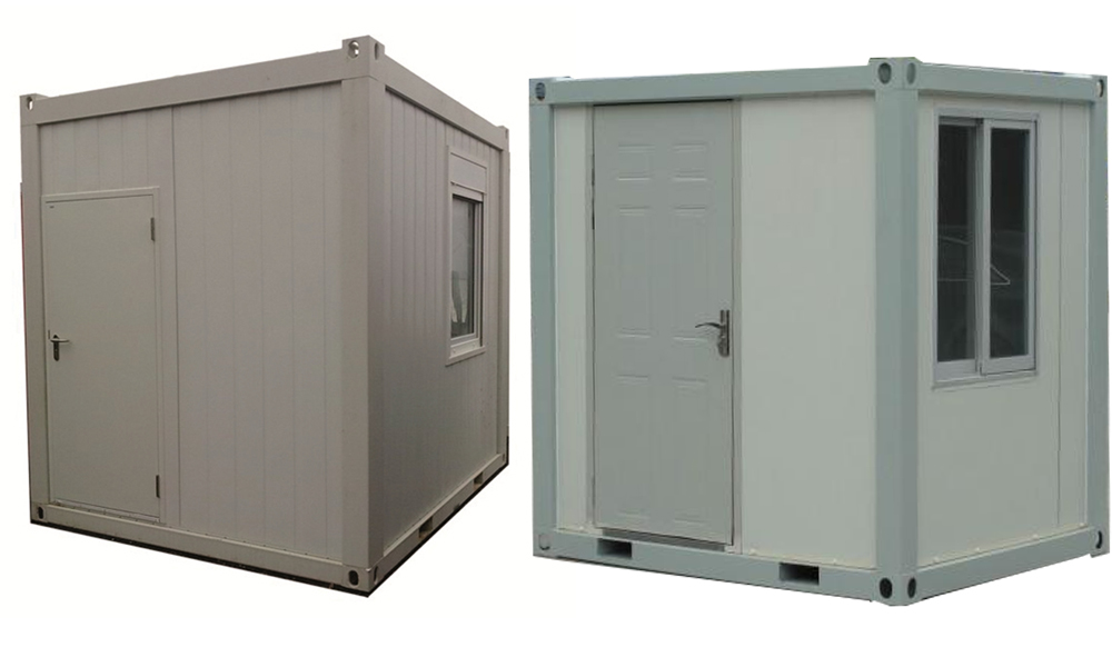 flat pack steel storage containers cost