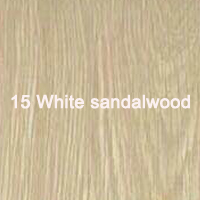 15 White sandalwood